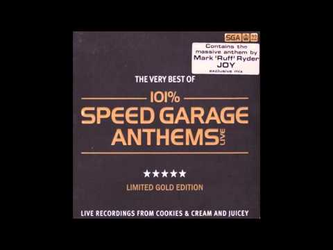 101% Speed Garage Anthems Live CD3