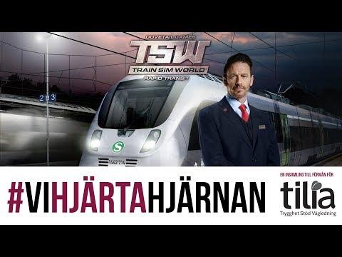 TSW: Rapid Transit - Första Streamen! - #ViHjärtaHjärnan