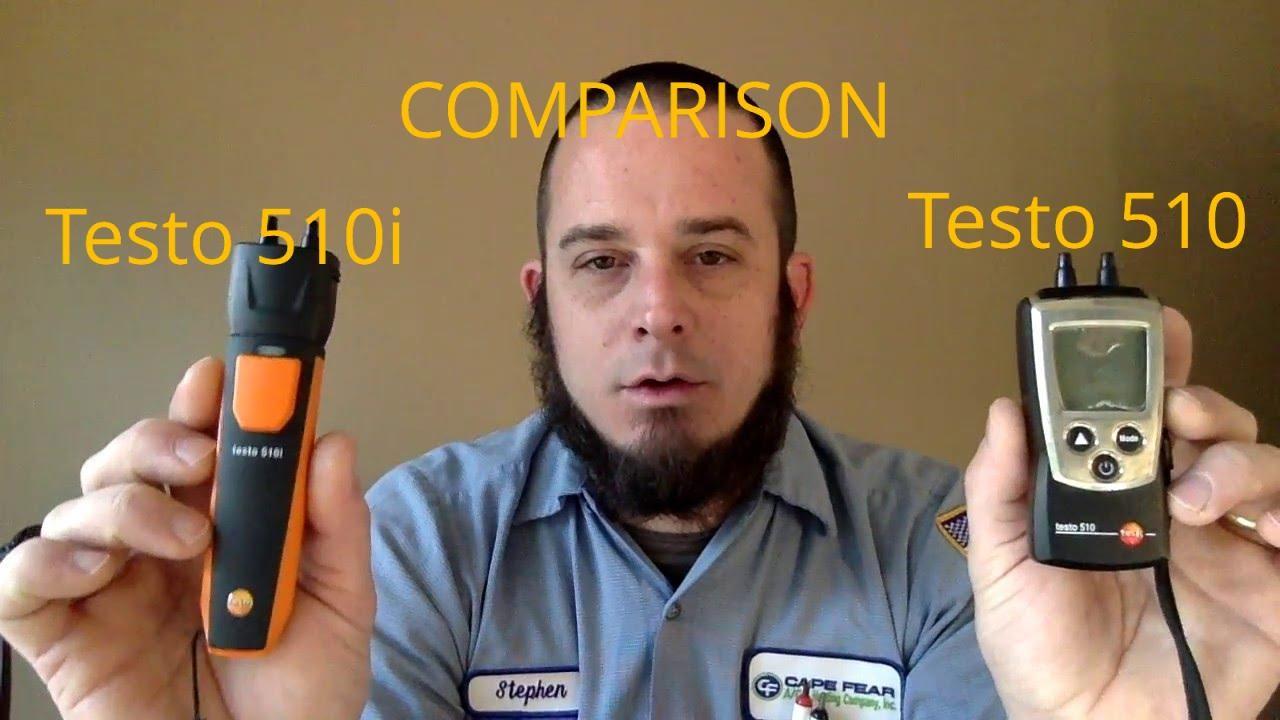 Hvac Tools Testo 510 And 510i Comparison Youtube Smart Probe