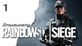RAINBOW SIX SIEGE Let's Play Singleplayer Situation 1 - Gameplay German Deutsch