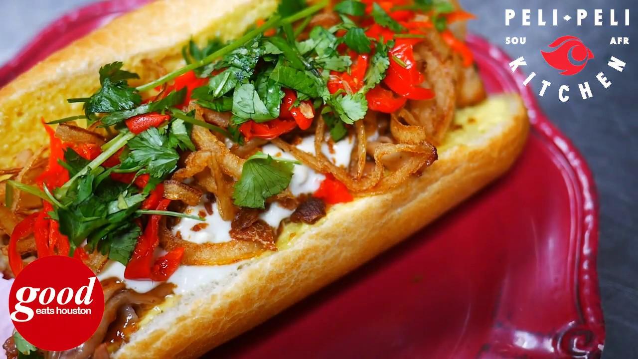 peli peli kitchen pork belly banh mi good eats houston - Peli Peli Kitchen