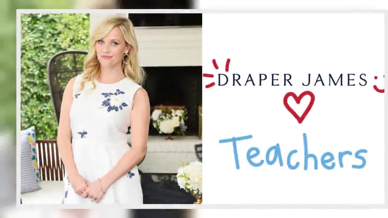 Reese Witherspoon's Draper James thanks teachers with free dresses
