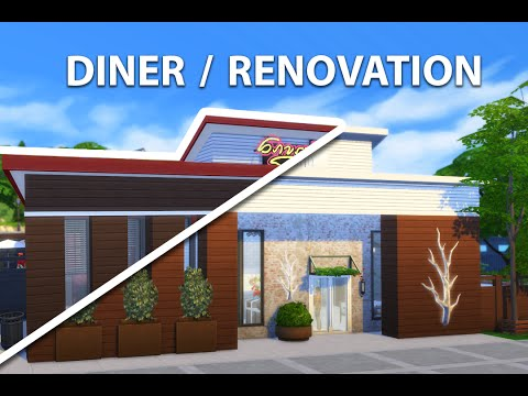 The Sims 4 Diner Renovation