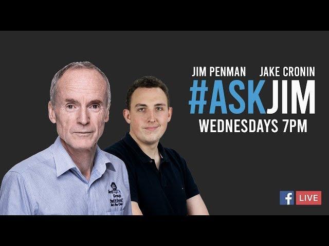 #ASKJIM FB Live Q and A with Jim 36 with Jim Penman and Digital Marketing Expert Sarfy Soudagar