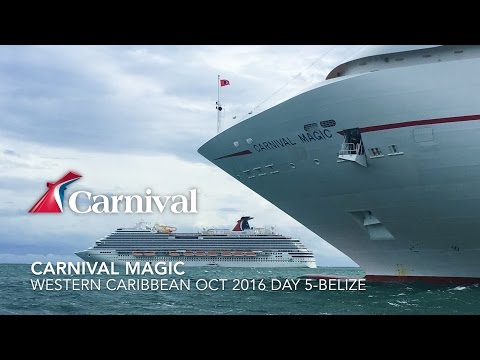 Carnival Magic Day 5 Oct/2016 - Belize