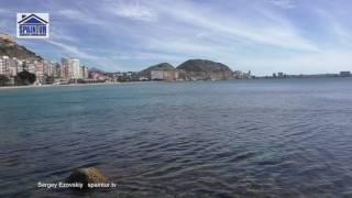 Подводная охота в Испании, в Аликанте, ныряют в черте города Сергей Езовский