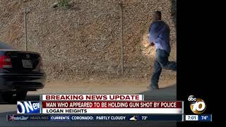 Foot pursuit ends in Logan Heights officer-involved shooting