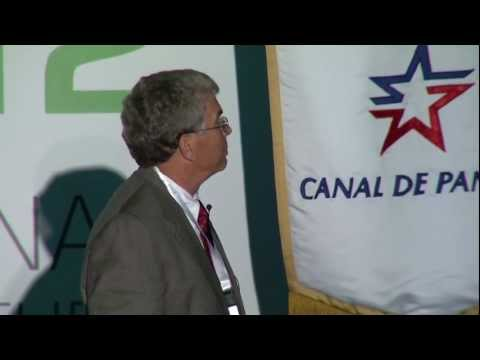 Dr. Robert Hall speaks about the Panama Canal Congress of Engineering and Infrastructure