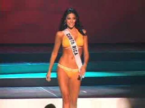 Costa Rica  Miss Universe 2008 Presentation  Swimsuit
