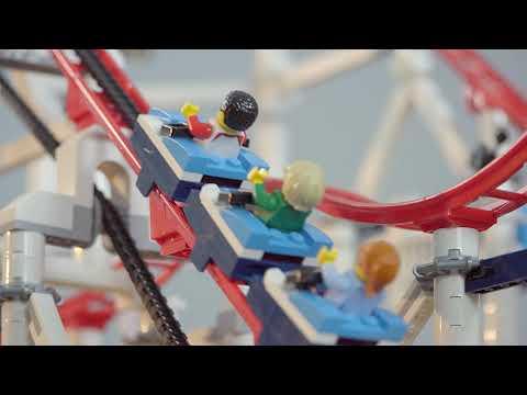 Stop-Motion-Video LEGO Roller Coaster (LEGO 10261) - von LEGO