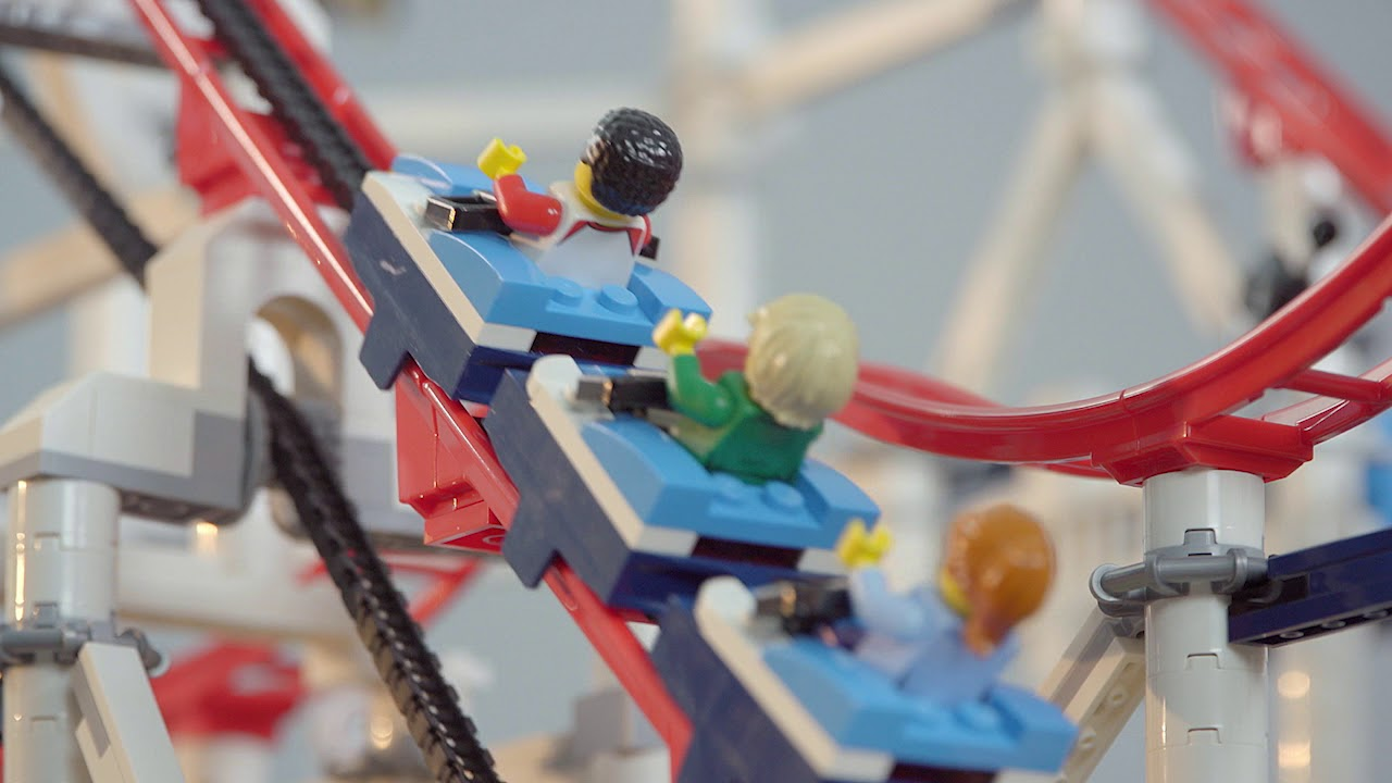 stop motion video lego roller coaster lego achterbahn. Black Bedroom Furniture Sets. Home Design Ideas