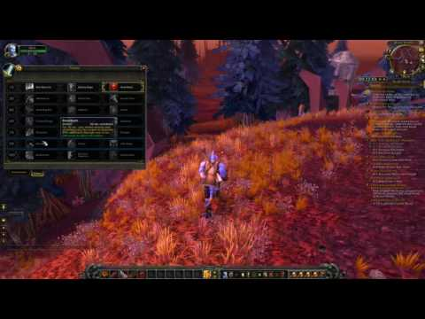 World Of Warcraft Qyrok let's play part 17 - Reading Galaen's Journal