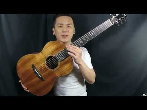Goodall KPK KOA top Parlor Guitar Review in Singapore