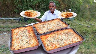 How to Make American Lasagna | Classic Italian Lasagna Recipe With Out Oven | Grandpa Kitchen