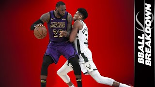 How The Modern Bucks, Old School Lakers Both Dominate The NBA