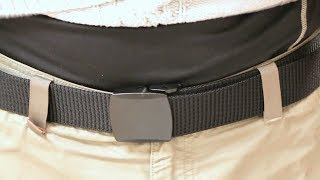 Canvas Lightweight Waist Belt