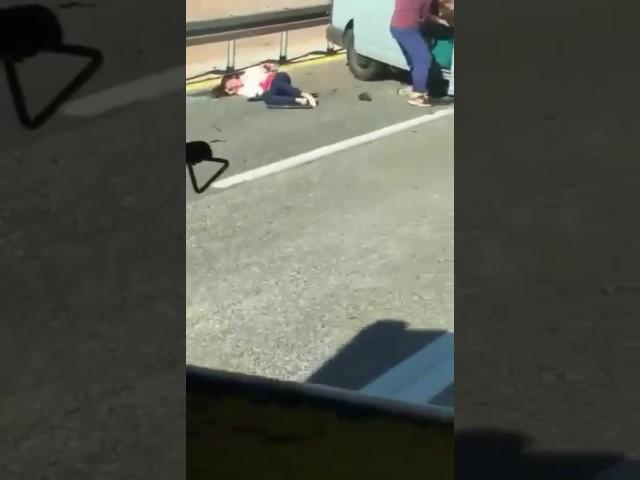 סרטון מהתאונה ליד כרמיאל- 2017