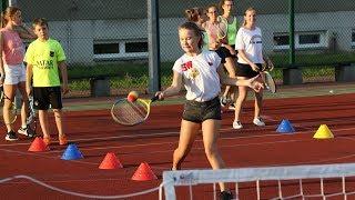 Tenisowe szkolenie OST w gminie Olszewo Borki