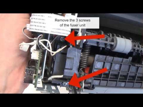 Disassembly Samsung ML-1660 1665 Laser Printer