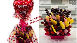 How to make Edible Fruit Bouquet Arrangement!