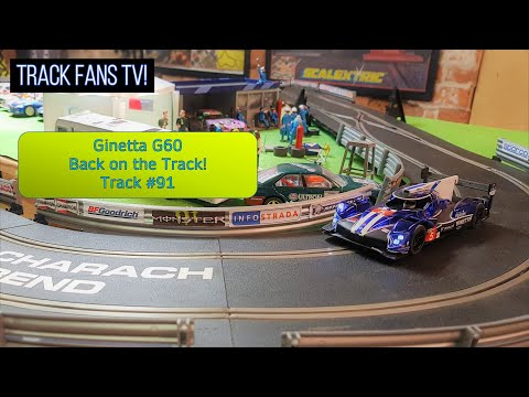 Track #91 – Big 2021 Scalextric Track Layout – Slot Car Fun in the Tunnel