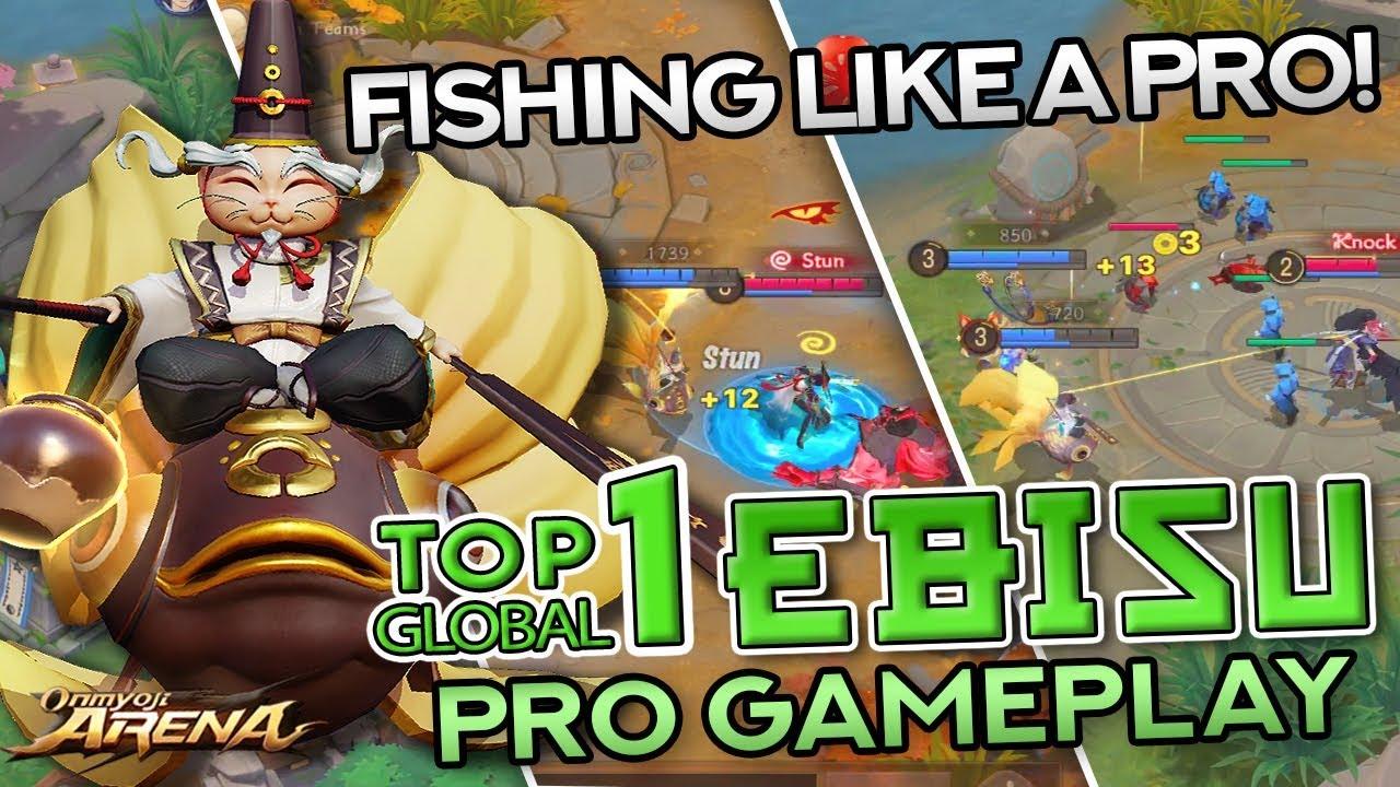 TOP 1 GLOBAL EBISU — PRO Build and Gameplay | Onmyoji Arena