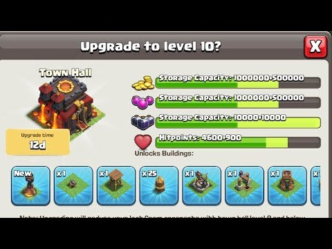 TH10 Clan War Starter Pack: What to Upgrade, Best Attacks, Best Bases