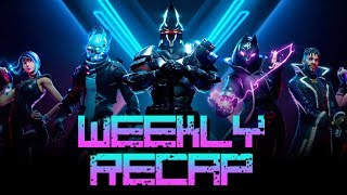 Weekly Recap #371 August 2nd  -  Skyforge, Portal Knights MMO, Fortnite & More!