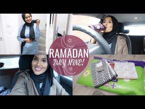 Pregnancy Q&A, OOTD+ Aldi Home Haul| RAMADAN DAY#8| Zeinah Nur