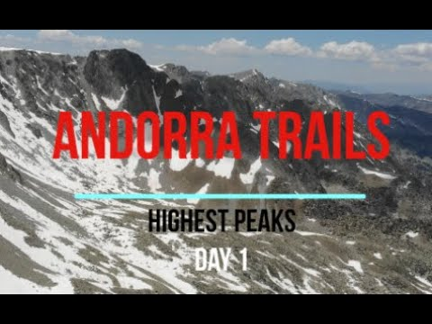Mountain Running - Highest Peaks Of Andorra - Day 1