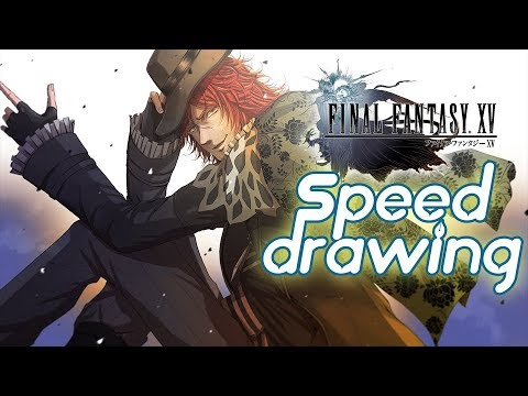 Final Fantasy Xv Ardyn Izunia Fan Art How To Draw Ff 15 Character