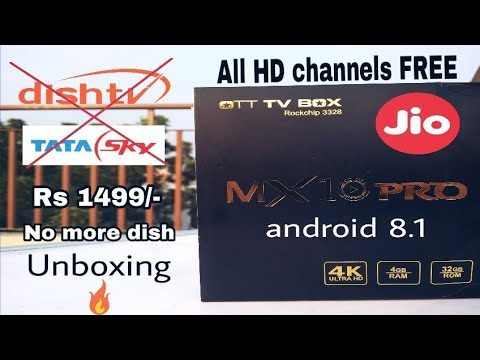 Best and cheap Android TV Box India | MX10 pro unboxing and review