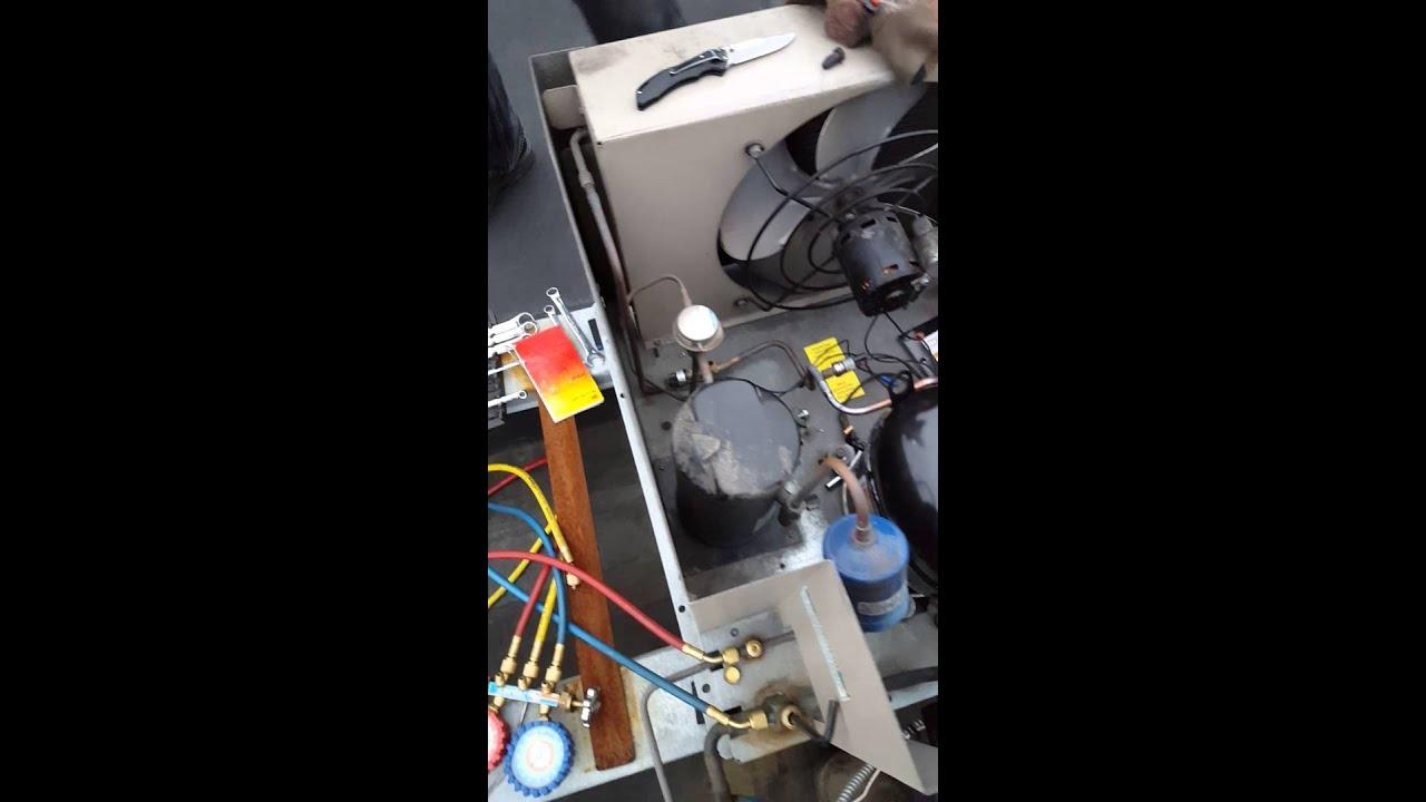 Tecumseh compressor install  R22