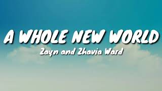 "Gambar cover Zayn and Zhavia Ward - A Whole New World (End Title) (Lyrics) [from ""Aladdin"" Soundtrack]"