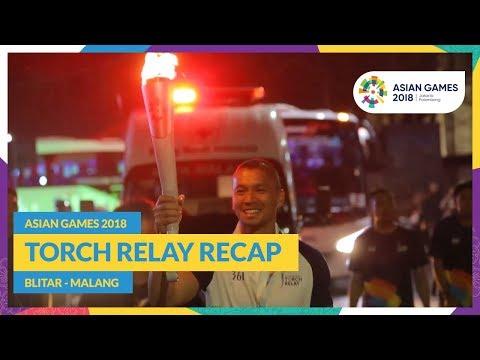 Asian Games 2018 - Torch Relay Recap (Blitar - Malang)
