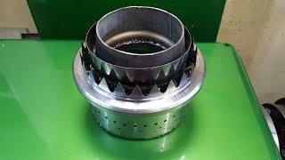 Камера сгорания для Турбо - Электро реактивного двигателя
