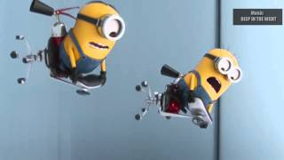 BMW VS Mercedes-Benz of minions  ♬ Music  DEEP IN THE NIGHT  ♬
