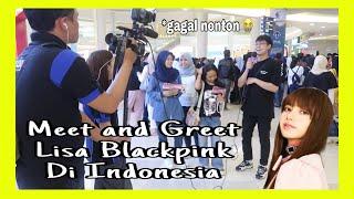 "Meet & Greet ""Lisa Blackpink"" di Indonesia | Suasana diluar"
