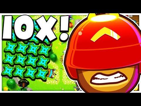 x10 NINJA MONKEY TOWER MOD - BLOONS TD BATTLE MOD