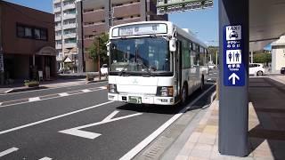 【前面展望】鹿屋~岩川~都城駅【三州自動車_路線バスで北上中!】