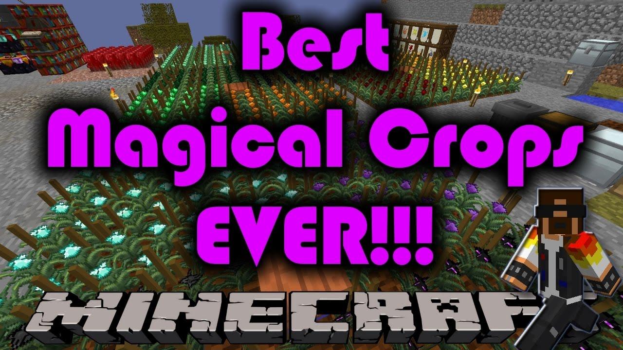 minecraft mods 1.7 10 magical crops