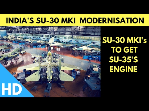 Super Sukhoi's : Indian Air Force SU-30MKI's To Get SU-35 Engines After Modernization :
