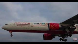 Autumn Morning Plane Spotting at Toronto Pearson Airport: Ethiopian, Air India, Hercules, etc.