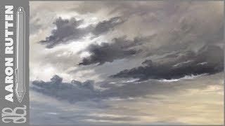Dark Clouds - Corel Painter 2019 Artwork Demo