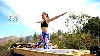 Йога для начинающих 40 мин | Руки, спина | chilelavida