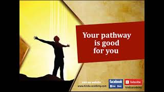 Your pathway is good for you | Jay Lakhani | Hindu Academy