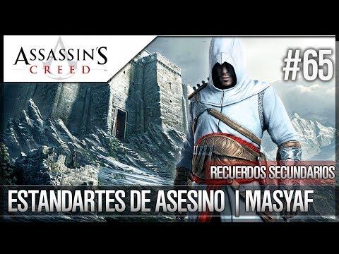 Assassin's Creed | Guía Logro | Localización de los 20 Estandartes Asesino en Masyaf