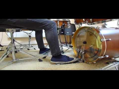 VLOG#7  Как быстро играть двойку на бас-барабане