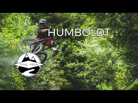 SICKEST TRAIL IN NORTHERN CALIFORNIA - Mountain Biking Humboldt County