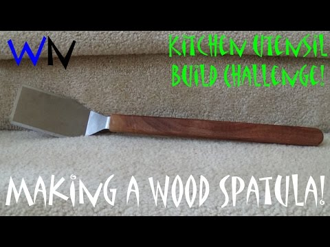 How to Make a Wood Spatula | Kitchen Utensil Build Challenge!